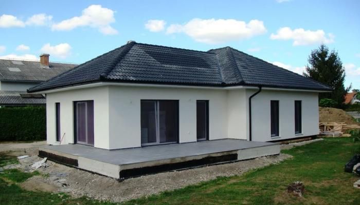 Construction of prefab homes abroad